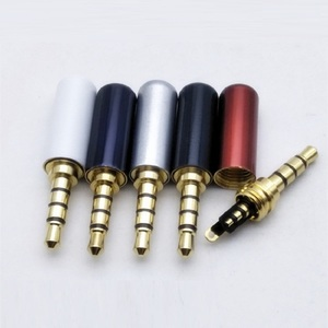 Image 4 - 2/5/10PCS 3.5 มม.หูฟังปลั๊กซ่อม 4 POLE ปลั๊กโทรศัพท์มือถือไมโครโฟนปลั๊ก 3.5 มม.
