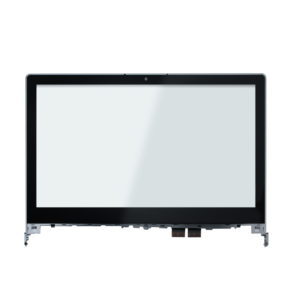 14''Touch Screen Glass Digitizer with Bezel For Lenovo Flex 2 14 20404 20432 Flex 2 14D 20376 original 14 touch screen digitizer glass sensor lens panel replacement parts for lenovo flex 2 14 20404 20432 flex 2 14d 20376