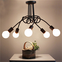 Ceiling Lamp LED Ceiling Lights Luminaria  Light  Fixtures Lustre Luminaire Vintage Lamps For Living Room Home Lighting Fixture vintage led ceiling lights rope hang lamp for home living room nordic bar lighting ceiling fixtures industrial decor luminaire