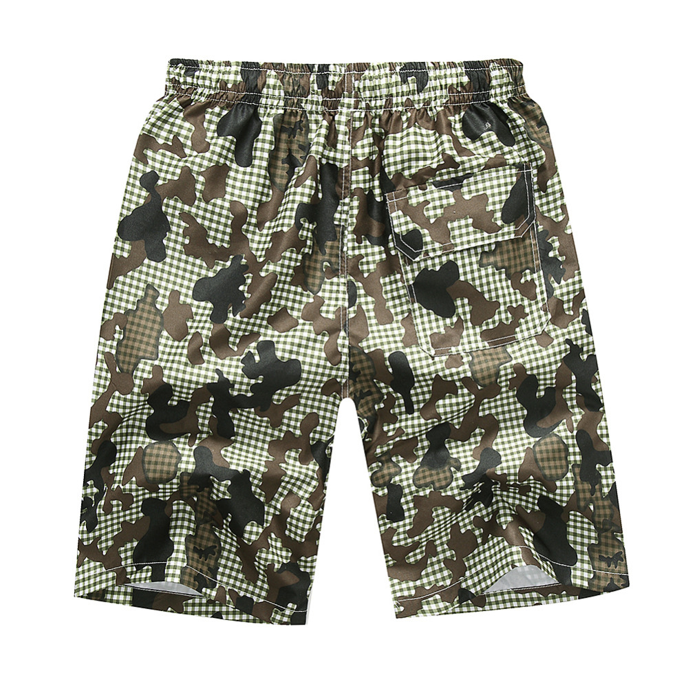 2017 Hot Selling Summer Mens Beach Shorts Beach Pants Loose Floral Shorts Quick-Drying Surfing Beach Pants
