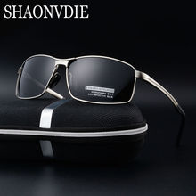 2017 polarized Men's sunglasses aluminum magnesium frame car driving sun glasses men Vintage Male Google Eyewea 8541