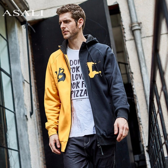 ASALI Hip Hop Hoodies Men  2