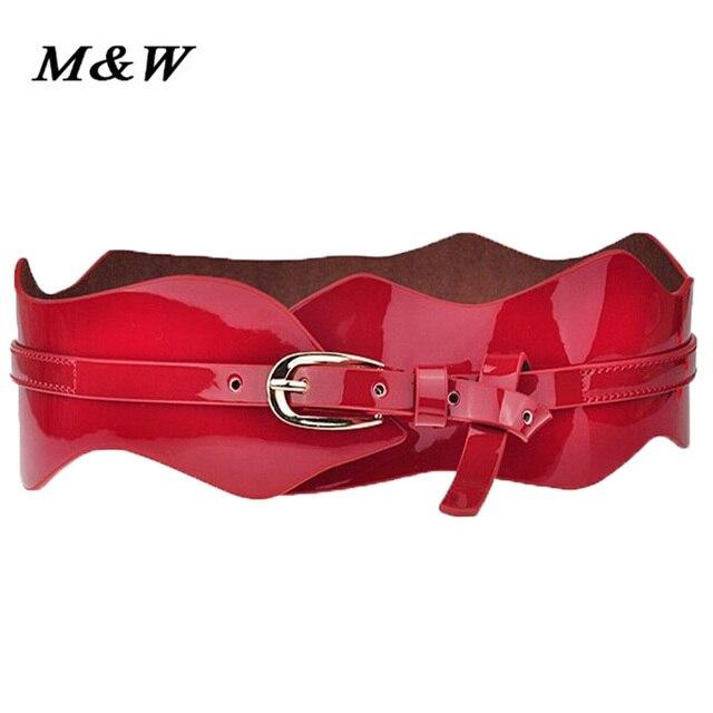 Korean new hot selling women belt all-match girdle needle Buckle Leather Ladies Belt 2017 fashion wave ultra wide belt