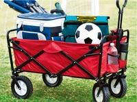 2016 New Portable Folding Shopping Cart Push Rod Trolleys Outdoor Camping Driver Cart