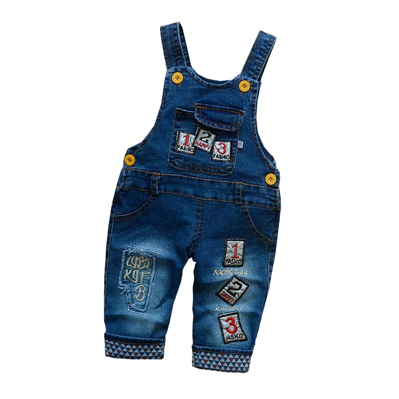 BibiCola Children Clothing Baby Jeans Overalls Boys Girls Pants Causal Clothes Kids Trousers For Baby Boy Girl Pants 9m 4t baby rompers spring boys girls jeans overalls babe jumpsuit infant pants toddler trousers kids clothes children clothing