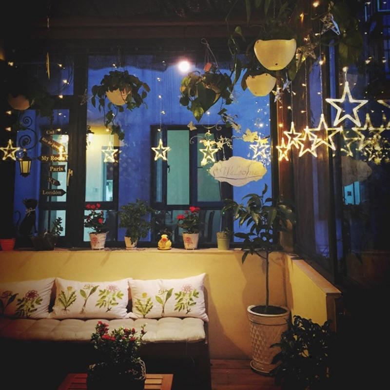 2m X 1m 12 LED Luz de tira ajustable de Navidad Inicio - Para fiestas y celebraciones