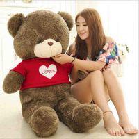 Giant Big Full Plush Teddy Bear Valentines Day LOVE Cute Plush Teddy Bear Huge Soft toy 2.5kg 3.5kg