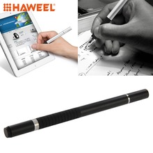 купить HAWEEL 2 in 1 Stylus Touch Pen + Ball Pen For iPhone 7 / 7 Plus / 8 / 8 Plus/ XS Max / XR / iPad and All Capacitive Touch Screen дешево