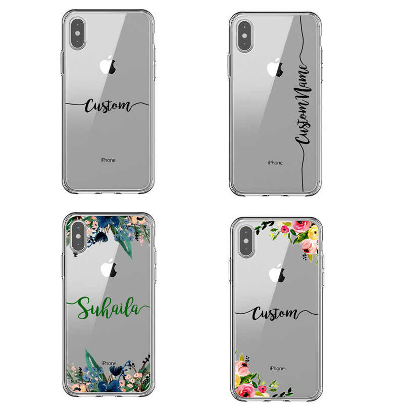 Étui pour iphone 6 6 S 7 8 plus 10 X XS XR XS Design peint Fundas Cus02