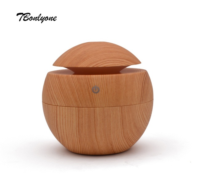 TBonlyone 130ML Mini Humidifier Aroma Diffuser Water Soluble Oil Diffuser Filter Type USB Ultrasonic Air Humidifier for Home