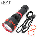 3800Lm XM-L2 U2 LED Dive 100 Meter Waterproof Underwater Diving Flashlight Torch Lamp Light Lighting LED
