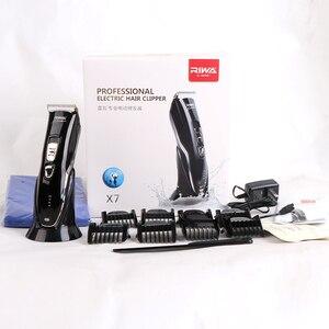Image 5 - הריבה X7 חשמלי בירד שיער גוזם שיער קליפר מקצועי Hairclipper גילוח מכונת עבור גברים תינוק 100 240V תספורת מכונה