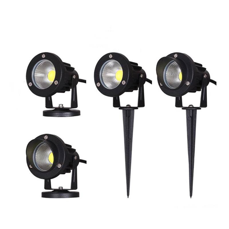 12V/220V Outdoor Garden Lamp LED Lawn Light 3W 5W 10W COB LED Spike Lamp Waterproof IP65 Pond Path Landscape Spot Lights Bulbs