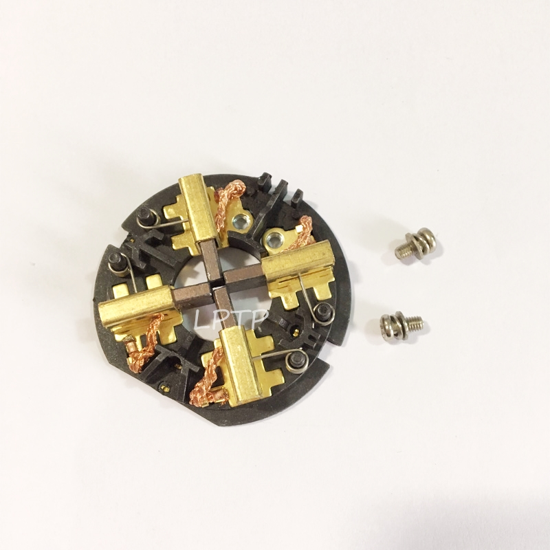 1PC Screw Carbon Brush Holder Brush Card Assembly For AEG RYOBI Milwaukee M18 18V M12 Hammer Drill & Impact Driver Accessories