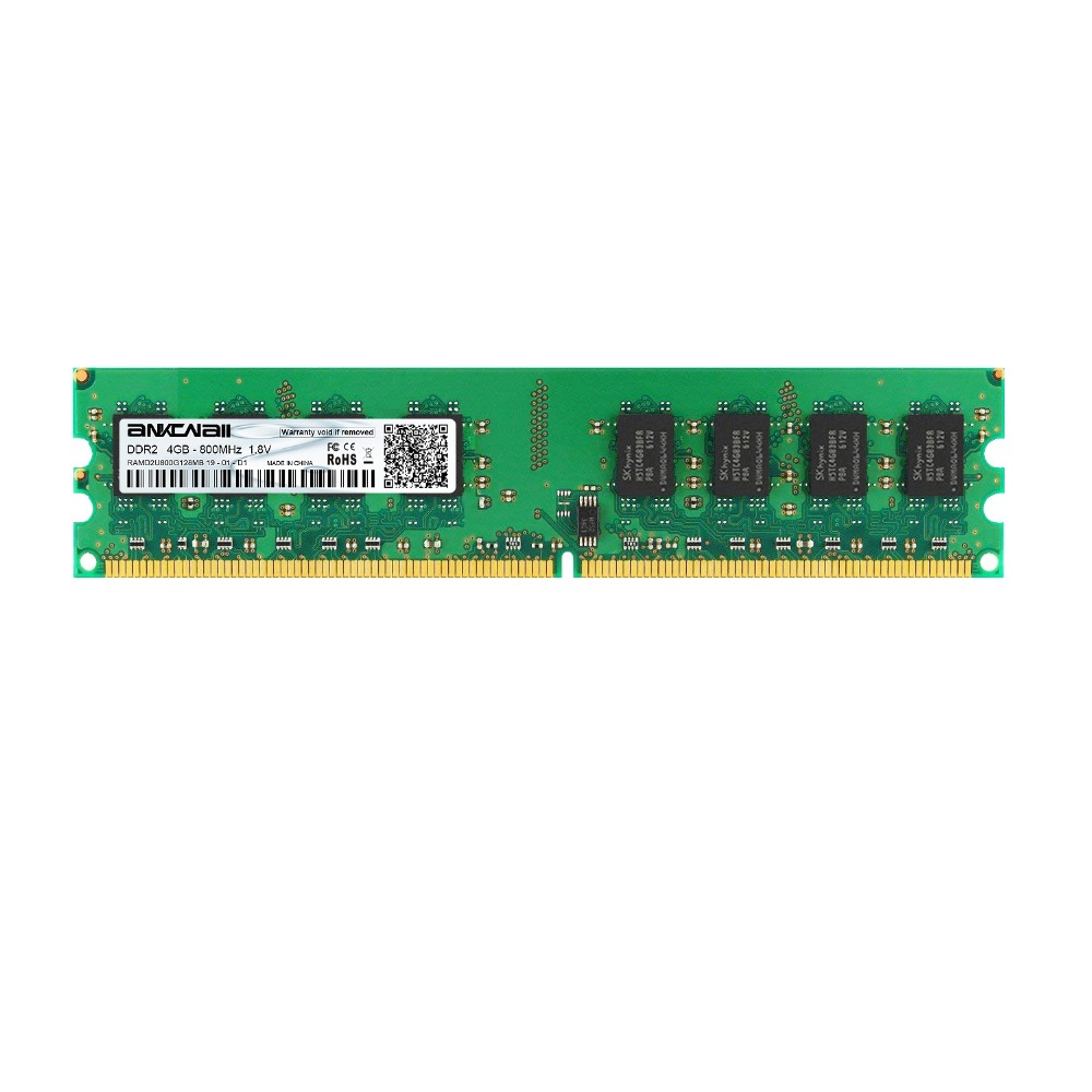 2GB/4GB DDR2 Desktop RAM with 667MHz/800MHz Memory Speed 1