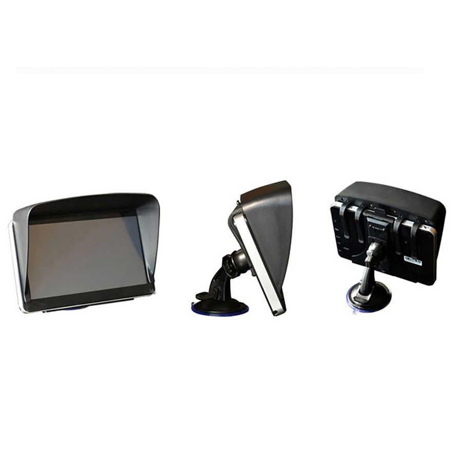 Anfilite 7 дюймов Автомобильный gps навигационная Защита от солнца аксессуары Запчасти солнцезащитный экран грузовик gps зонт от солнца навигатор