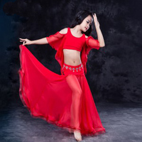 New 2017 Oriental BellyDance Costumes for kids/child/girls Sexy hand made Belly Dancing Suits clothes for stage performance