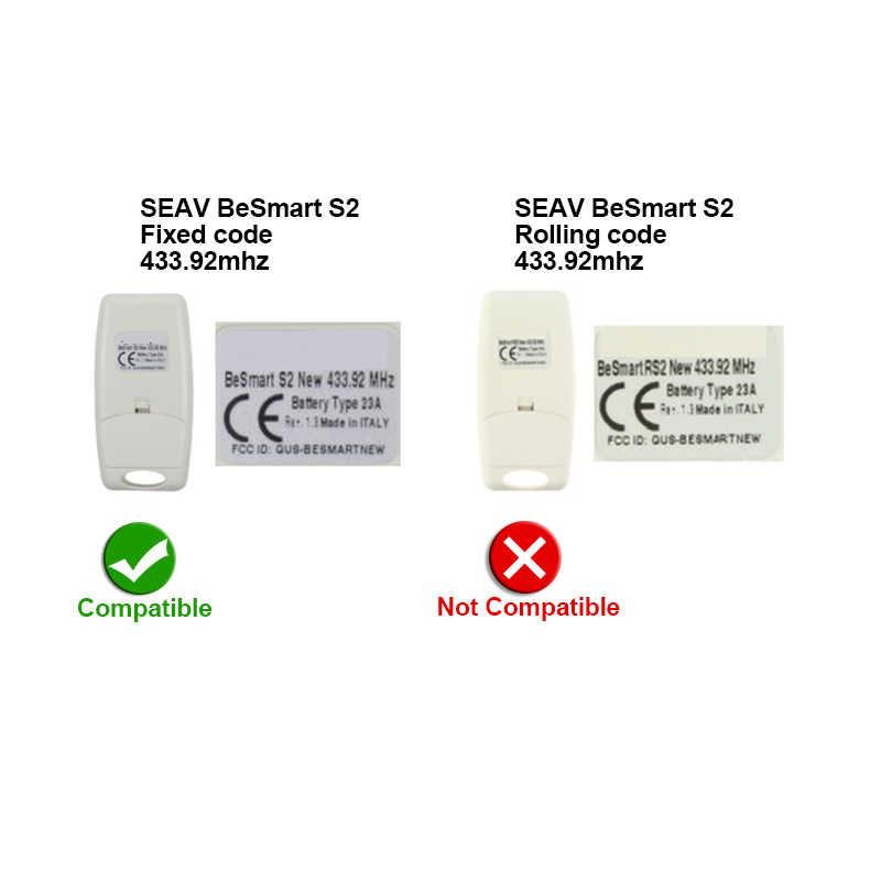 Seav TXS 2 NEW Transmitter 2 channels 433MHz