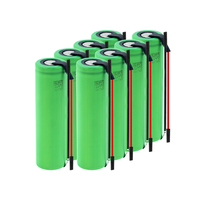 New 1-10Pcs US18650VTC5A 3.6 v 2600 mah 18650 Battery Lithium Rechargeable Battery 35A High Drain With Diy Wires batteries