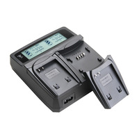 Udoli NB 4L NB4L NB 4L Battery Dual Charger For Canon IXUS 50 55 60 65
