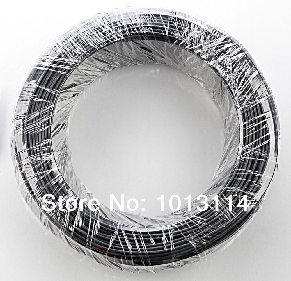 Bonsai Aluminio Entrenamiento Alambre Rollo Bonsai Herramientas 2.0 mm diámetro 1000G / Rollo 115 Metros