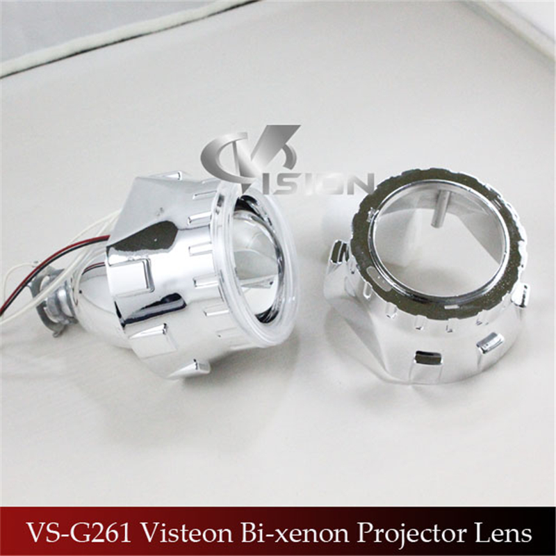 Free Shipping IPHCAR Car Styling LHD/RHD CCFL Amber Angel Eyes Halo HID Bixenon Lens Projector Headlight Retrofit H1 H4 H7 free shipping iphcar lhd rhd auto driving front lens universal led ring angel eyes light mini projector headlight for h1 h4 h7