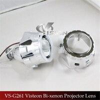 Free Shipping IPHCAR Car Styling LHD RHD CCFL Amber Angel Eyes Halo HID Bixenon Lens Projector