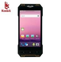 Kcosit KX41 QR Barcode Scanner Android 2D IP68 PDA Leitor RFID UHF Sem Fio Terminal De Coletor de Dados Portátil Robusto À Prova D' Água Scanners     -