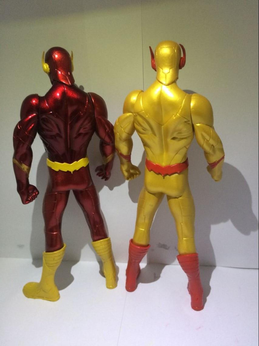18CM PVC Super Hero Justice League Flash Barry Allen Action Figure - Խաղային արձանիկներ - Լուսանկար 4