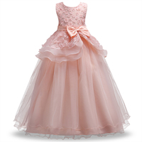 5 14Y Teenager Girls Dresse For Birthday Party S Kids Party Ball Gown Princess Bridesmaid Children