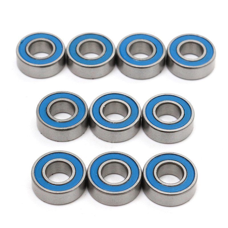car bearings. 5*11*4 mm 10 pieces of mr115 2rs ball bearings for rc car traxxas slash rustler stampede wheel deep groove bearings-in parts \u0026 accessories from
