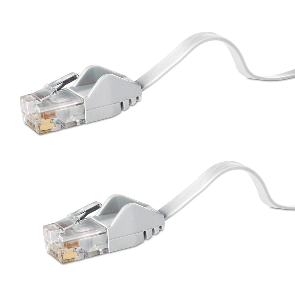 Free shipping 30m flat CAT6 cable CAT 6 30m Flat UTP Ethernet Network Cable RJ45 Patch LAN Cord