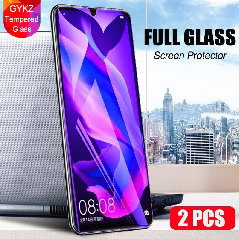 Full coverage Tempered glass For Huawei P Smart 2019 2018 Screen Protector Tempered Glass For Huawei