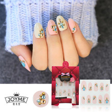 High Quality Metal Nail Stickers 3d Crystal Stone DIY Metal Nail Art Decorations Golden Stickers Manicura Women Beauty Tool Gift