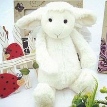 Soft Plush Stuffed Lamb Baby Toy