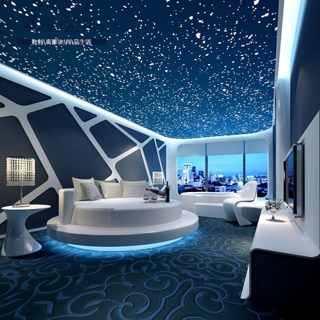 3D Galaxy Star Nebula Personalized Custom Theme Bedroom House Restaurant  KTV Large Mural Wallpaper Wallpaper Seamless