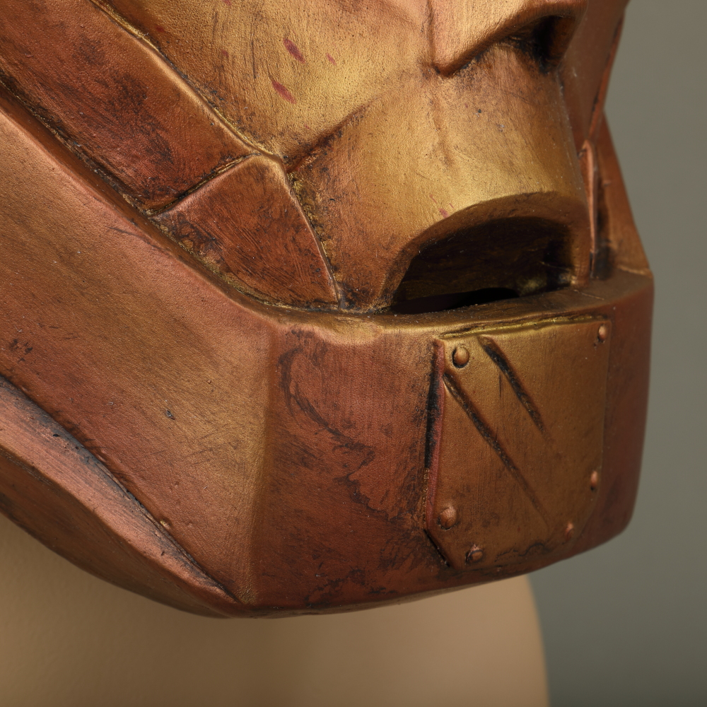 Anime Doom Patrol Mask Robotman LED Latex Helmet Halloween Superhero Mask Cosplay Prop (12)