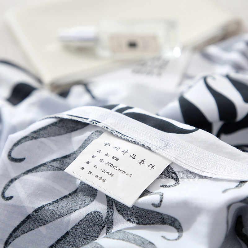 2019 Новый продукт 1 шт 100% хлопок пасторальный стиль цветы красочные печатных пододеяльник