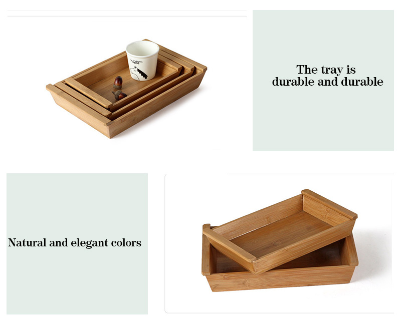 3 Size Wooden Storage Boxes [Makeup Organizer]