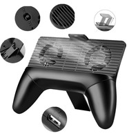 3 in 1 Gamepads Multifunction Mobile Phone Radiator Game Controller Cooling Fan Holder Support Stand Power for Mobile Joysticks