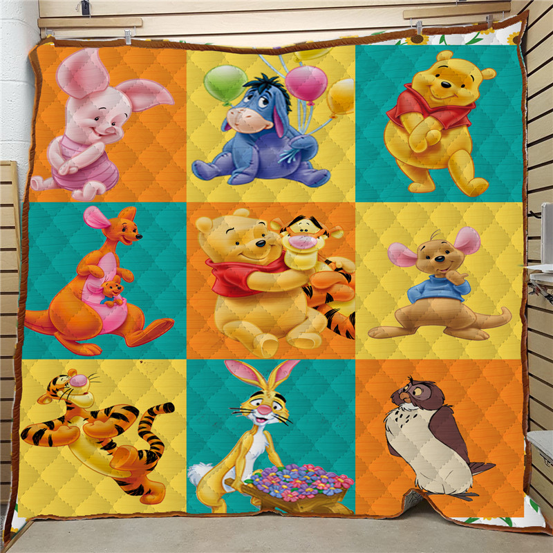 Square Patchwork Quilt Cartoon Colchas Para Cama Travel Blanket Colchas Verano Quilted Bedspread Edredon Verano Drop Shipping