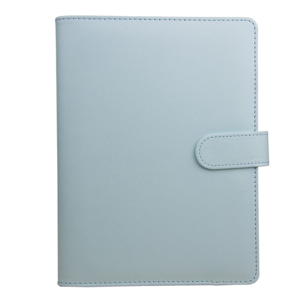 BLEL Hot A5 Weekly Monthly Planner Diary Classic Loose-Leaf-Ring-Binder Notebook Cover, Blue a5 planner agenda pu loose leaf weekly monthly journal diary notebook blue pu leather soft cover
