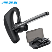 K10 Wireless Bluetooth Headphones Earhook Headset Stereo Handsfree Noise Reduction Earphone With Mic For Car Driver