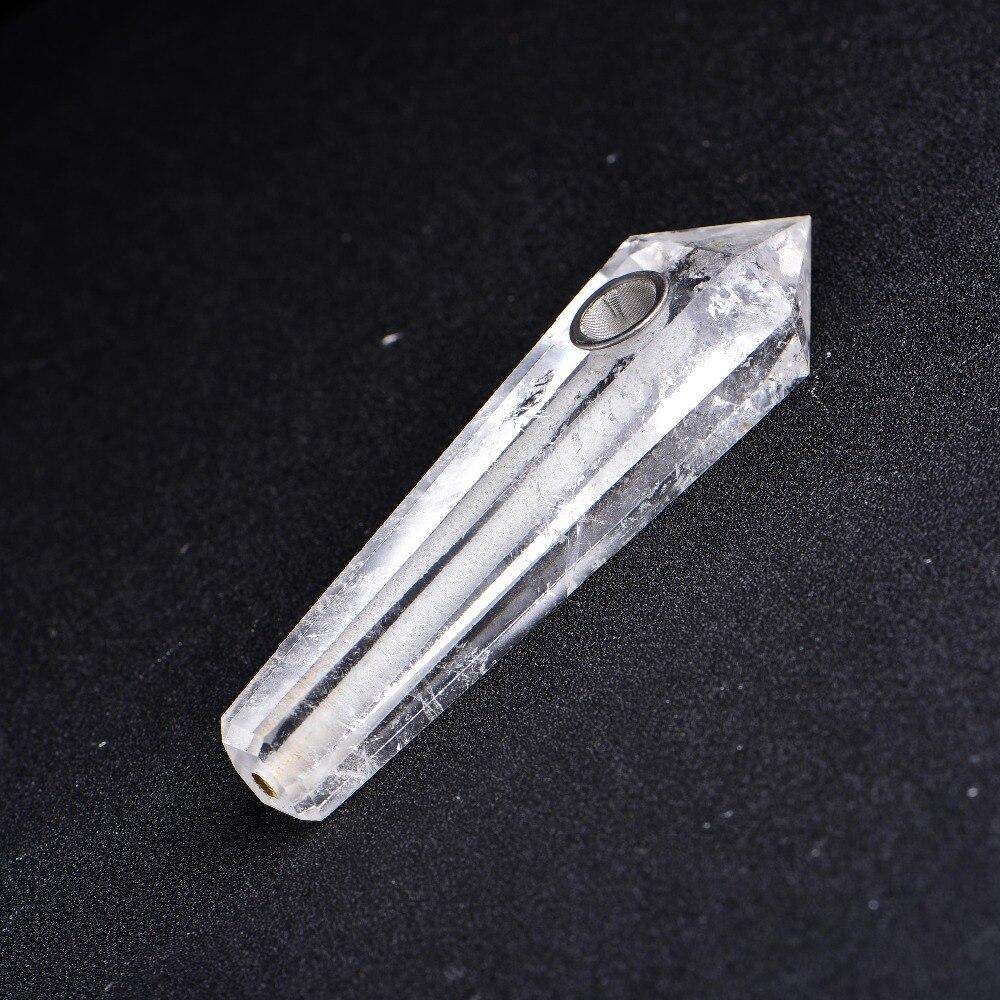Quartz Crystal Healing Pipe 4