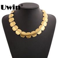 Women S Gypsy Necklace Fashion Jewelry Iced Out Bohemian Gold Plated Antique Necklace Retro Vintage Trendy