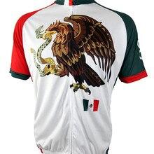 Мексиканская команда Велоспорт Джерси гонки спортивный мотоцикл Джерси Топы мотобайк, велосипед, велотренажер одежда Ropa Ciclismo летняя одежда для велоспорта