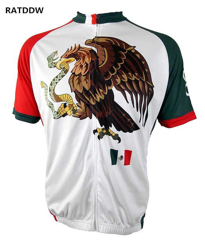 Mexico Team Cycling Jersey Racing Sport Bike Jersey Tops mtb Bicycle Cycling Clothing Ropa Ciclismo Summer