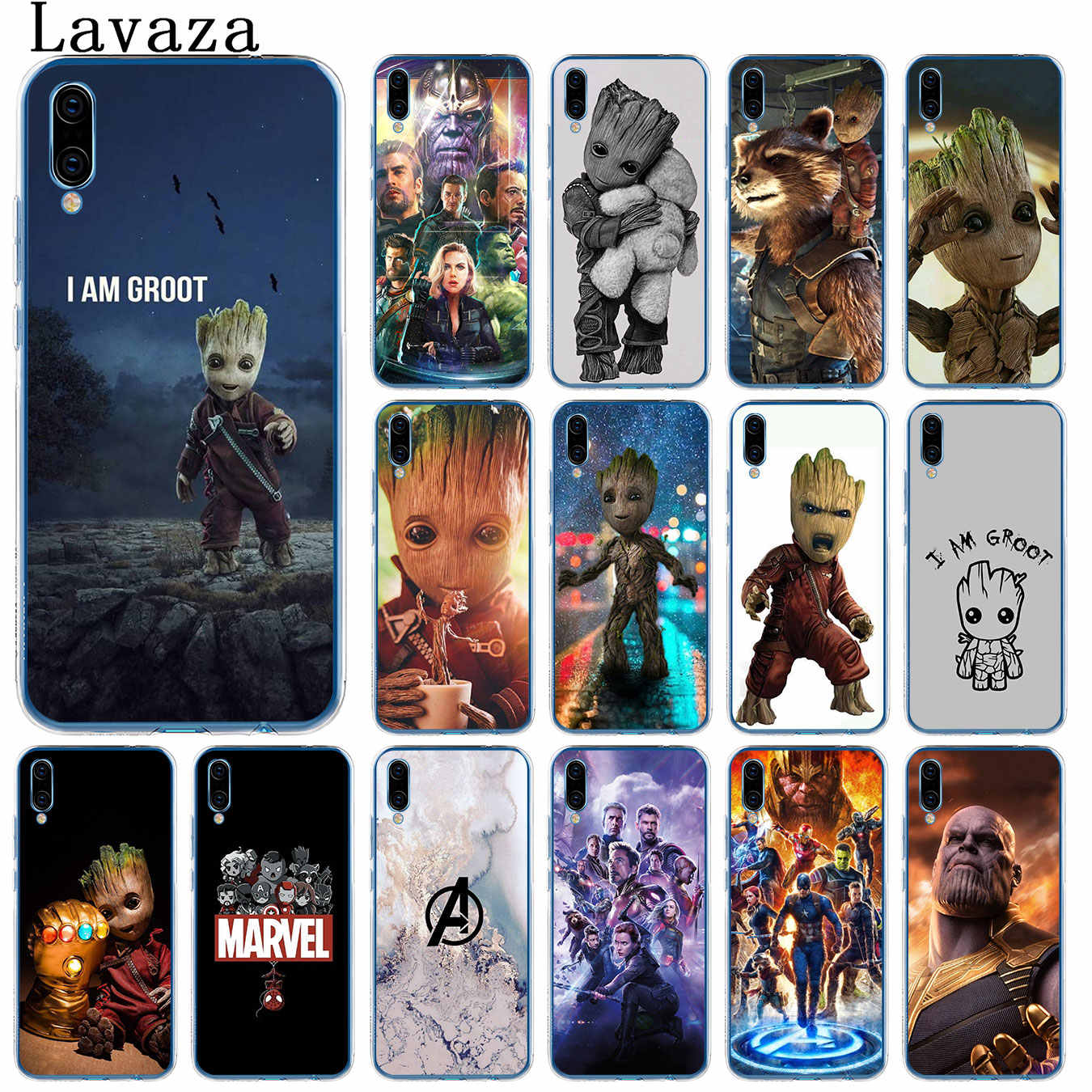 Guardians of the for Galaxy Marvel Avengers Endgame Case for Huawei P30 P20 Pro P9 P10 Plus P8 Lite Mini 2017 P smart Z 2019