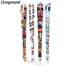 L2822 DRAGON BALL Z lanyards id badge holder keychain ID Card Pass Gym Mobile Badge Holder Lanyard key