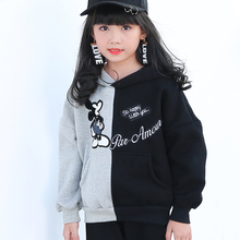 Girls and women's cashmere sweater thick winter hat coat even children in school uniforms children warm coat